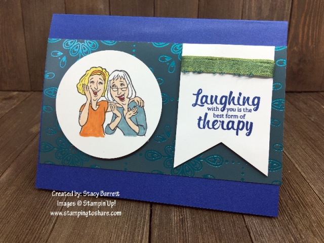 Stampin' Up! Young at Heart by Stacy Barrett