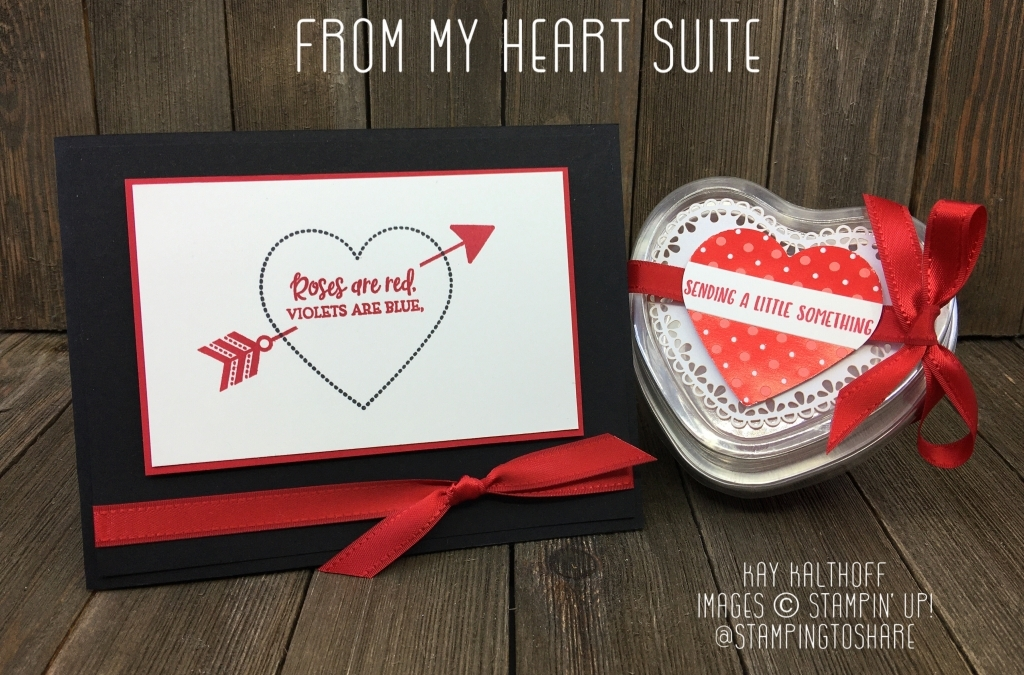 Heartfelt Bundle Card and Treat Holder for Valentine's Day!