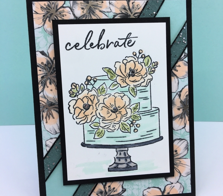 How to Make an Elegant Birthday Card with Happy Birthday to You Set
