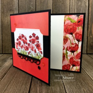 An Easy, Elegant All Occasion Card with the Painted Poppies Bundle