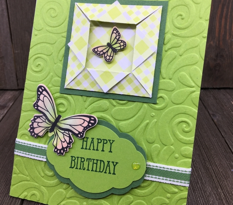 Stamping to Share Demo Swaps: Birthday Part One