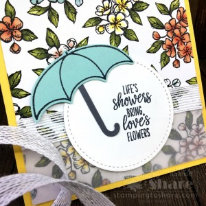 Under My Umbrella Bundle for Pretty Spring Cards