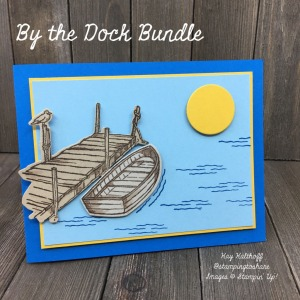 By the Dock Bundle for Summer Card Making & Masculine Cards