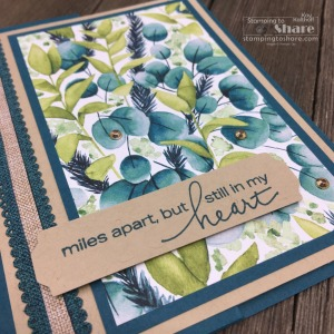 Use the Lovely You Bundle with this Fun Fold Card!